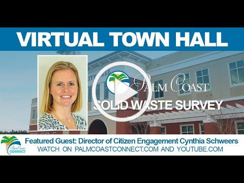 Virtual Town Hall: Solid Waste