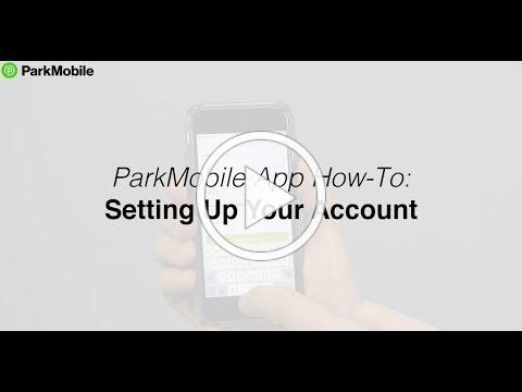 ParkMobile App: Account Set Up