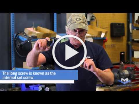 Installing a Gear Operator on a High Performance Butterfly Valve