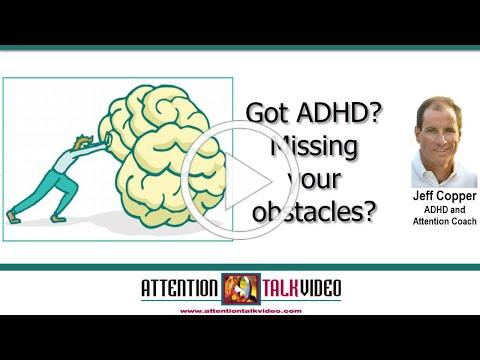 ADHD and Obstacles: A Love-Hate Relationship
