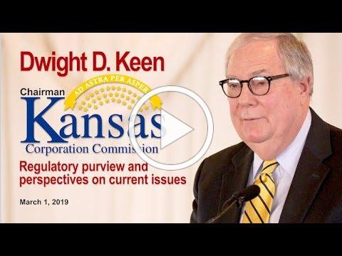 The KCC - It's regulatory purview and perspectives on current issues