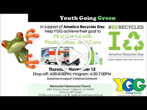 YGG Supports America Recycles Day