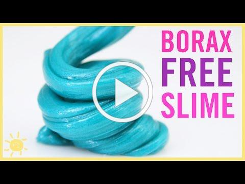 BEST Kid Friendly Slime! (NO Borax)