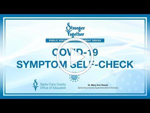 COVID 19 Symptom Self-Check