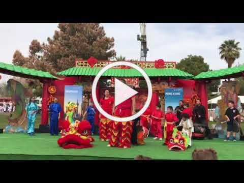 AWA Lion Dance in the Year of the Dog, February 2018!