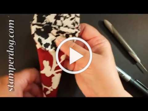 Easy Fabric Scissor Pouch