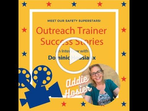 Outreach Trainer Success Stories with Addie Hosier: Dominic Housiaux
