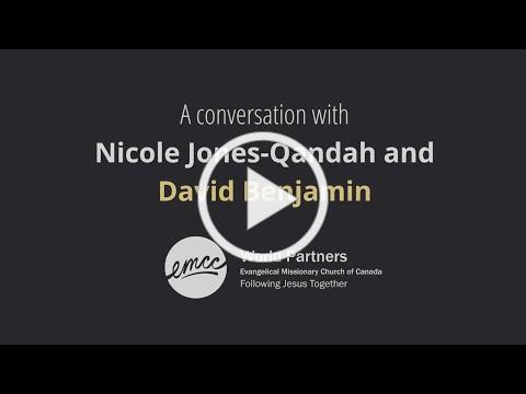 David Benjamin Interview with Nicole Jones-Qandah | World Refugee Week | EMCC World Partners