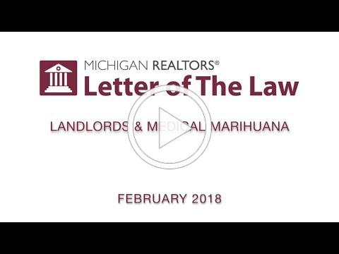 Letter of The Law: Landlords & Medical Marihuana