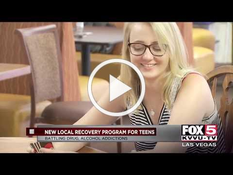 New program in Las Vegas is helping teens overcome addiction