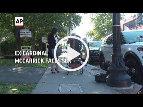 Ex-Cardinal McCarrick: not guilty to sex assault