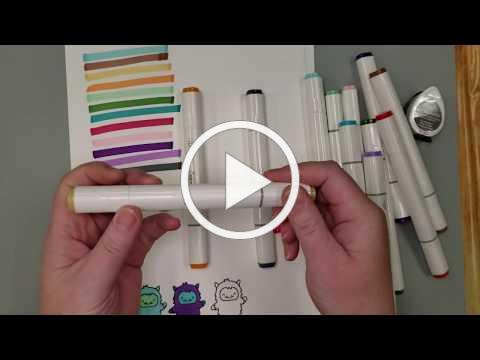 Sizzix Alcohol Markers
