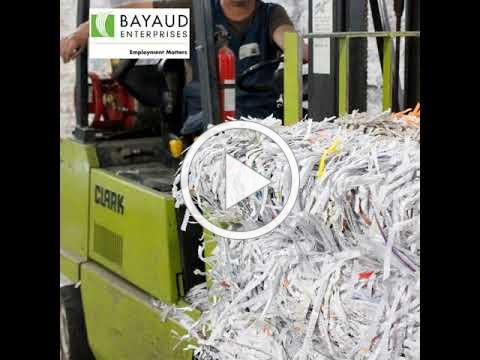 Bayaud Enterprises Document Shredding