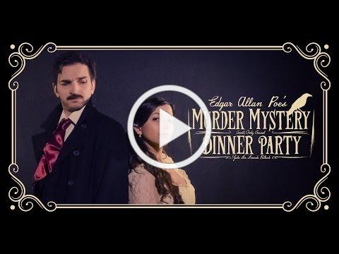 Edgar Allan Poe's Murder Mystery Dinner Party TRAILER