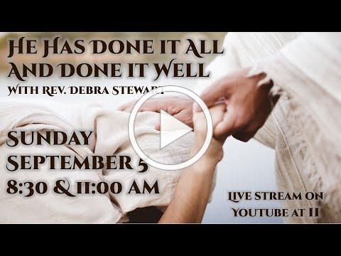 Mt Zion UMC Marietta Livestream - August 29, 2021