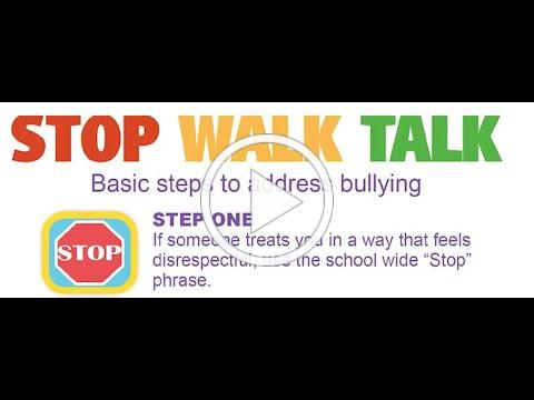Stop Walk Talk in PBIS