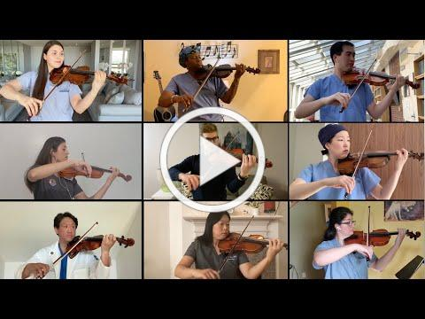 Bach Double Violin Concerto - a tribute to healthcare workers with Joshua Bell