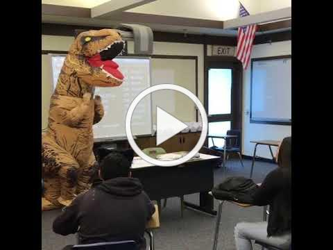 ASL-friendly T-Rex