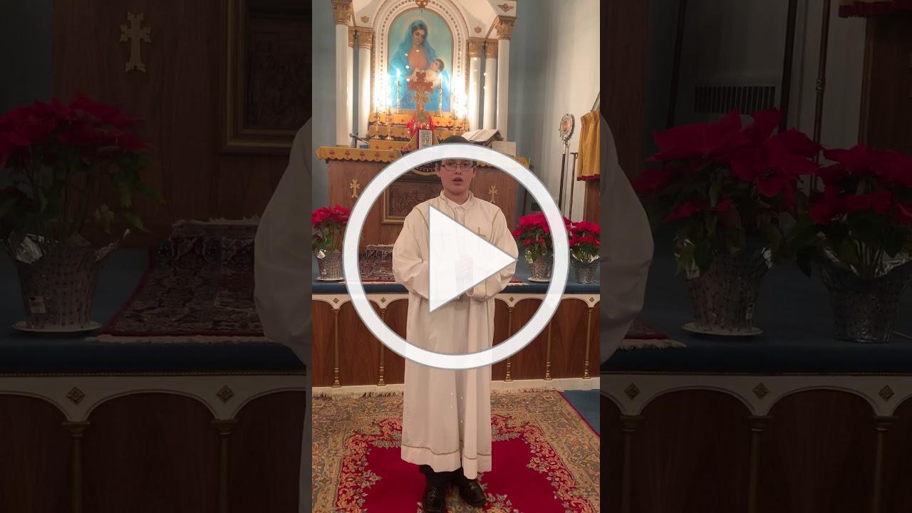 Հաւատով Խոստովանիմ Ժէ․ աղօթք - Հայերէն
