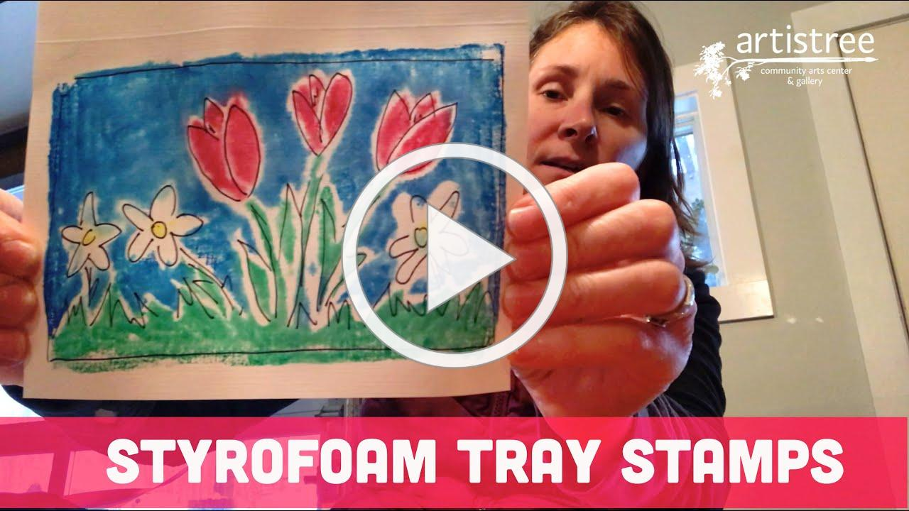 How to Make Styrofoam Stamp
