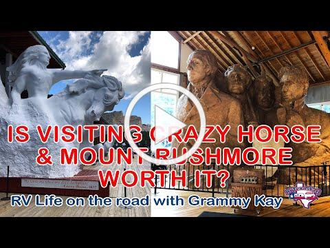 Mount Rushmore and Crazy Horse: Bucket List ✅! | RV America Y'all | RVTY