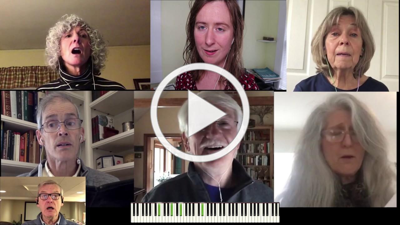 Trinity Virtual Choir of Portland, ME - Come Spirit Come