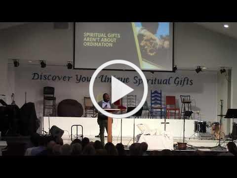 """""""Spiritual Gifts"""" Derrick Scott III"""