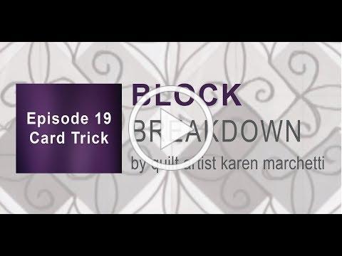 Block Breakdown - Card Trick (episode 19)
