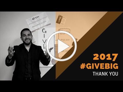 2017 #GiveBig Thank You
