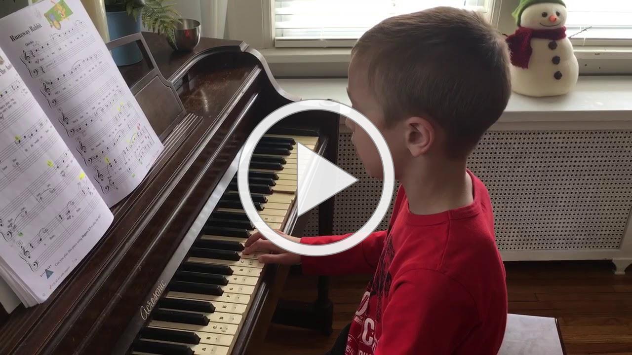 Reid on the piano