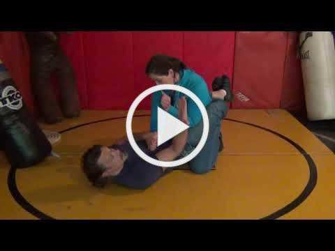 Mark Hatmaker demos a Corksrew Toe-Hold