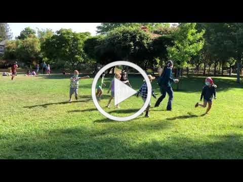 Backyard Explorers Red Group Line Dancing