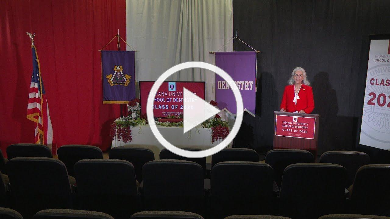 Indiana University School of Dentistry Graduation 2020