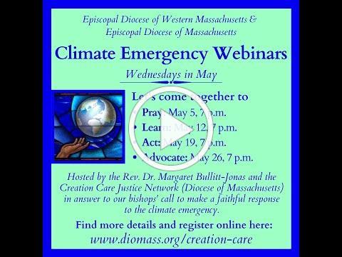 Climate Emergency Webinars: Session 1 - PRAY