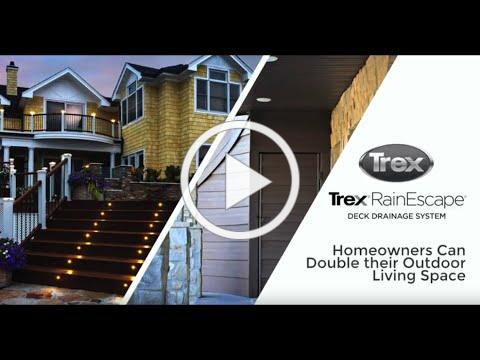 How Homeowners Benefit from Trex RainEscape