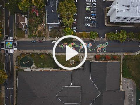 Be The Machine, H&R Block, NextDoor, and ArtWorks Street Mural