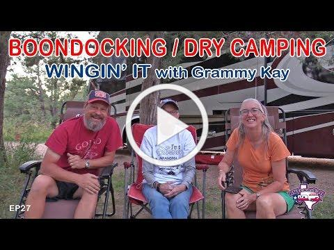 RV Boondocking / Dry Camping | Wingin' It!, Ep 27 | RV Texas Y'all
