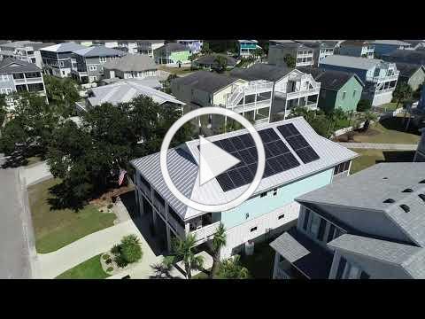 Residential Solar Installation in Kure Beach, North Carolina