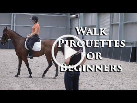 Training The Walk Pirouette - Dressage Mastery TV Ep82