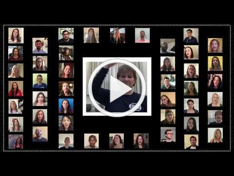 "DSOA Alumni Virtual Choir - ""God Is Seen"" (arr. Alice Parker)"