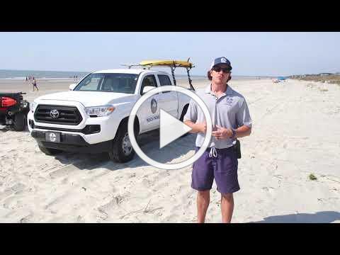 National Beach Safety Week #1 - Wear Sunscreen & Drink Water
