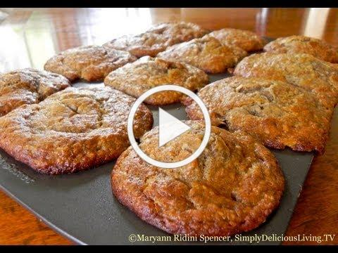 Pineapple Applesauce Muffins