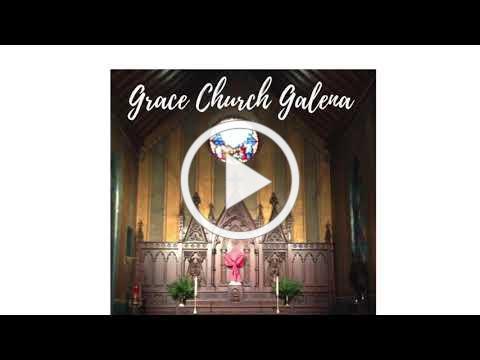Grace Episcopal Church, Galena IL, Palm Sunday 3-28-2021