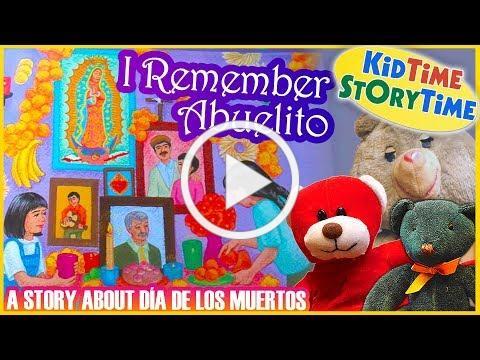 I Remember Abuelito/Yo Recuerdo a Abuelito: A Story About Día de los Muertos | Kids Books Read Aloud
