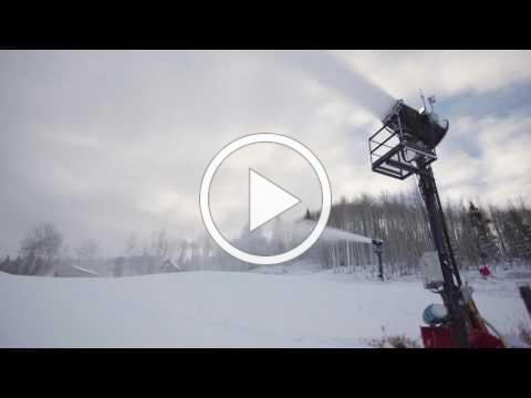 Snow and Preparations for Vail Opening Day 2016