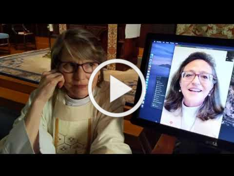 4/26/2020 - Bishop Megan's Virtual Visit to St. Paul's Healdsburg