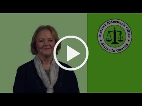 DA Nancy O'Malley: Hate Crimes in Alameda County