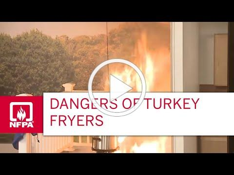 Dangers of Turkey Fryers