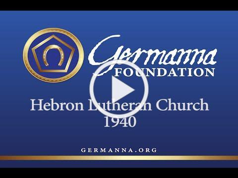 Hebron Lutheran Church in 1940