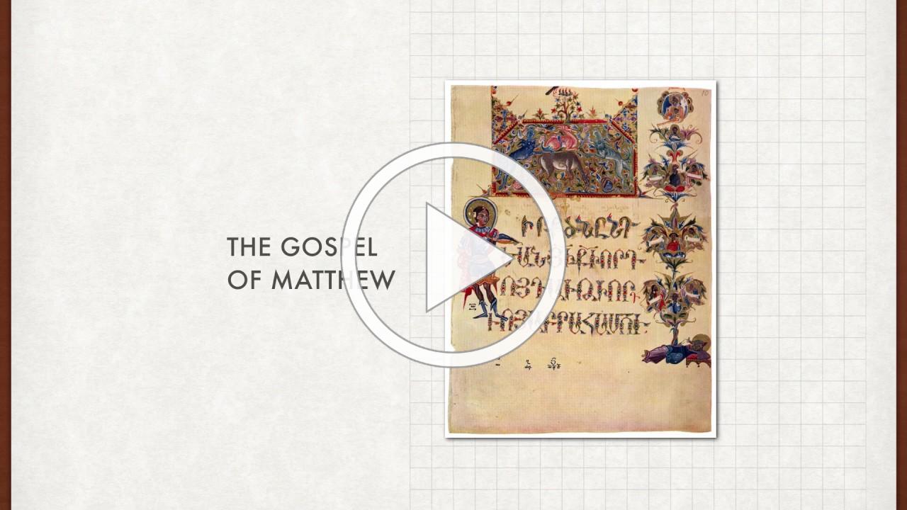 Bible Study The Gospel of Matthew Session 1